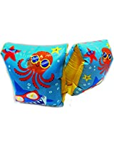 Play Day Ages 3 6 Chillin Sharks Octopus And Starfish Blue Armband Water Wings