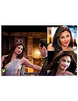 Bollywood Daisy Shah Grey Saree