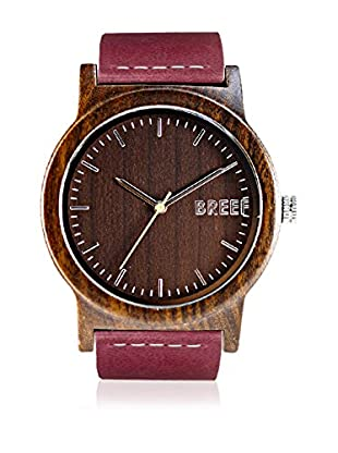 Breef Watches Reloj con movimiento japonés Unisex Ebano Violeta 44 mm