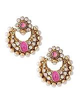 Ethnic Indian Artisan Jewelry Set Pretty Dangler EarringsBAEA0355LP