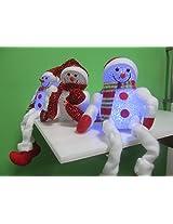 LED Snowman Long Legs (sold per piece)