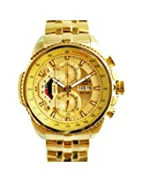 Casio Men's Gold Chronograph Watch