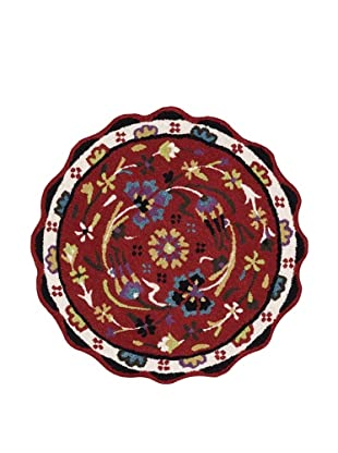 Loloi Rugs Azalea Collection Round Rug (Red)