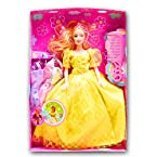 Beautiful kids Toys with Trendy Dresses Like Barbie Doll Set Toy Baby Gift -16