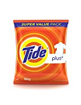 Tide Plus Detergent Washing Powder - 6 kg Pack