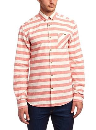 Selected Homme Camisa Villafranca (Coral)