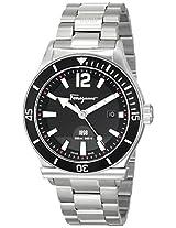 Salvatore Ferragamo Mens FF3130014 FERRAGAMO 1898 SPORT Stainless Steel Watch