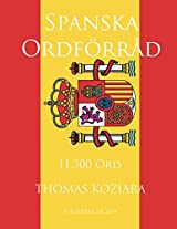 Spanska Ordforrad (Swedish Edition)