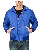 Campus Sutra Royal Blue Mens Jacket(AW15_JK_M_P9_RB_XL)