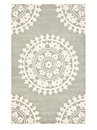 Soho Rugs Pattern (Light Grey/Ivory)