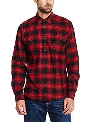 Cortefiel Camisa Hombre Sobrecamisa Cuadros