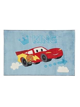 ABC Tappeti Alfombra Disney Comfort Line (Cars Azul)