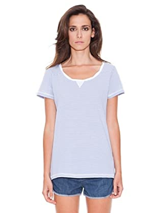 Women secret Camiseta Mc Garden (Blanco / Azul)