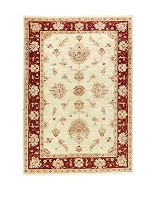 L'Eden del Tappeto Teppich Zeigler beige/rot 175t x t123 cm