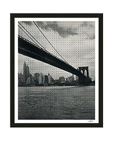 Thom Felicia-Black Dots on The Brooklyn Bridge C