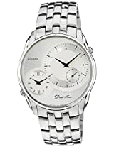 Citizen Analog White Dial Men's Watch - AO3005-56B
