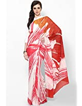 Georgette Mult Screen Printed Saree Satya Paul