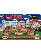 3D Natural Wood Puzzle - U.S. Capitol Building