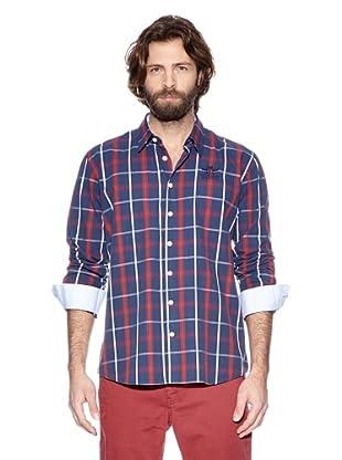NZA New Zealand Auckland Camisa Básica Nicea (Marino / Rojo)