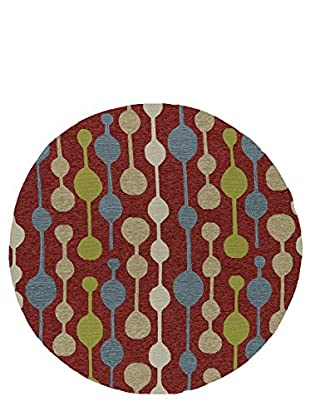 Kaleen Home & Porch Indoor/Outdoor Rug, Red, 7' 9