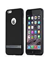 Rock Flip Cover For Apple iPhone 6 Plus (Black)