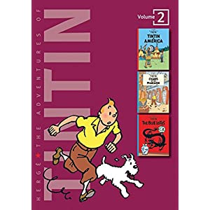 Adventures of Tintin - Vol. 2: Tintin in America, Cigars of Pharaoh & Blue Lotus (The Adventures of Tintin - Compact Editions)