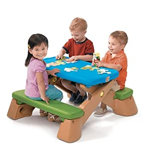 Step2  Play Up Fun-Fold Jr. Picnic Table