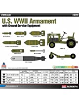 Academy U.S. WWII Armament with Ground Service Equipment