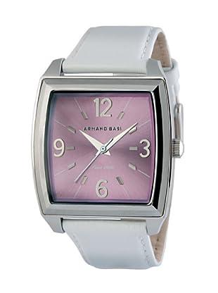 ARMAND BASI A1008L06 - Reloj de Señora movimiento de cuarzo con correa de piel Blanca
