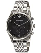 Emporio Armani End-of-season Analog Black Dial Men's Watch - AR1863