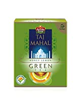 Brooke Bond,  Taj Mahal Honey Lemon Green Tea , 10 Tea Bags