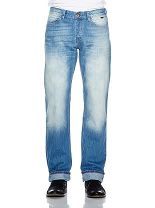 Cross Jeans Pantalón Vaquero Antonio (Azul Medio Used)