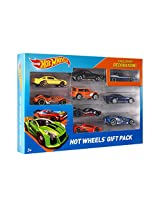 Mattel X6999 Hot Wheels 9-Car Gift Pack (Styles May Vary)