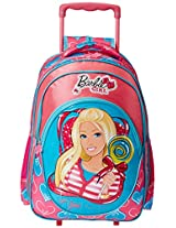 Barbie Pink and Blue Children's Backpack (EI-MAT0064)