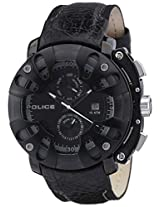 Police Protector Singham Analog Black Dial Men's Watch - PL13806JSB02J