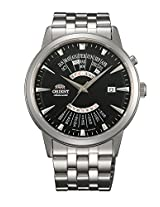 Orient Black Dial Analogue Watch for Men (SEU0A003BH)