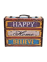 Happy Home Believe Suitcase-Large