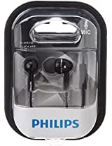 Philips SHE1455BK In-Ear Headphone With Mic (Black)