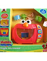 Elmo Happy Helpers Giggle Microwave W 5 Food Pieces & Fun Talking Sounds (2009 Sesame Street)