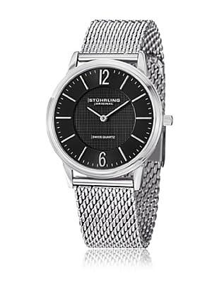 Stührling Original Orologio al Quarzo Man 122.33111 Zifferblatt schwarz - Silber - Edelstahl - Armband
