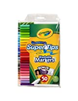 Crayola 50-pk. Super Tips Silly Scents Markers