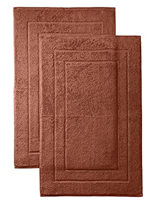 Espalma Set of 2 Signature Tub Mats (Spice)