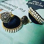 Black silk thread jewellery