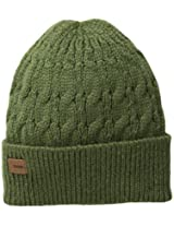 Coal Men's Longview Cable-Knit Beanie, Olive, One Size