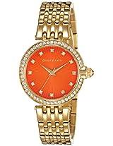 Giordano Analog Orange Dial Women's Watch - 2752-33