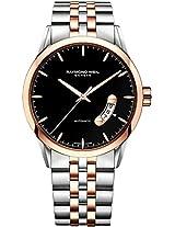 Raymond Weil Analogue Black Dial Men's Watch - 2730-SP5-20011
