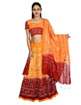 Rajrang Womens (Lhg00474 _Orange _Free Size)