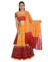 Rajrang Womens  (Lhg00474 _Orange _Free Size)
