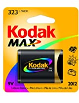 Kodak MAX K323L-1 Lithium Photo Battery