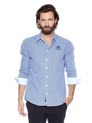 NZA New Zealand Auckland Camisa Básica Temnos (Marino / Azul Claro)